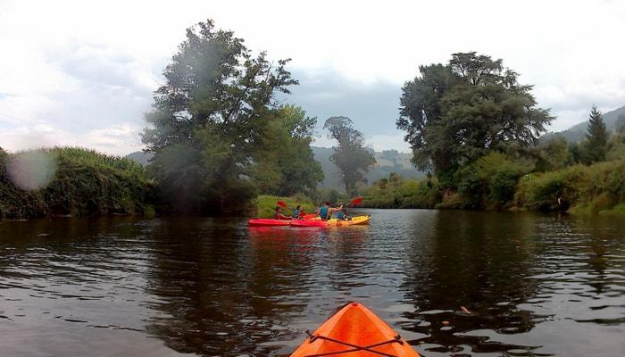 4 razóns polas que facer turismo rural en Trabada: descenso en canoa e rutas BTT