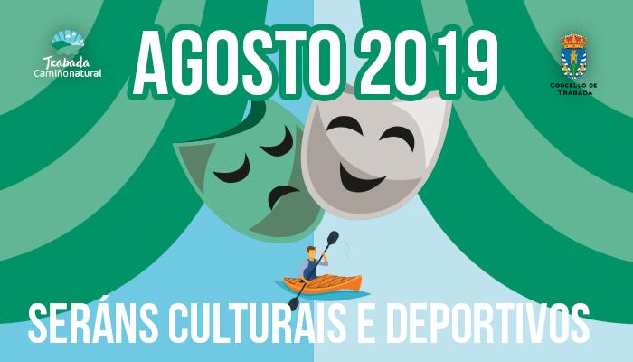 Seráns culturais e deportivos en Trabada durante o mes de agosto
